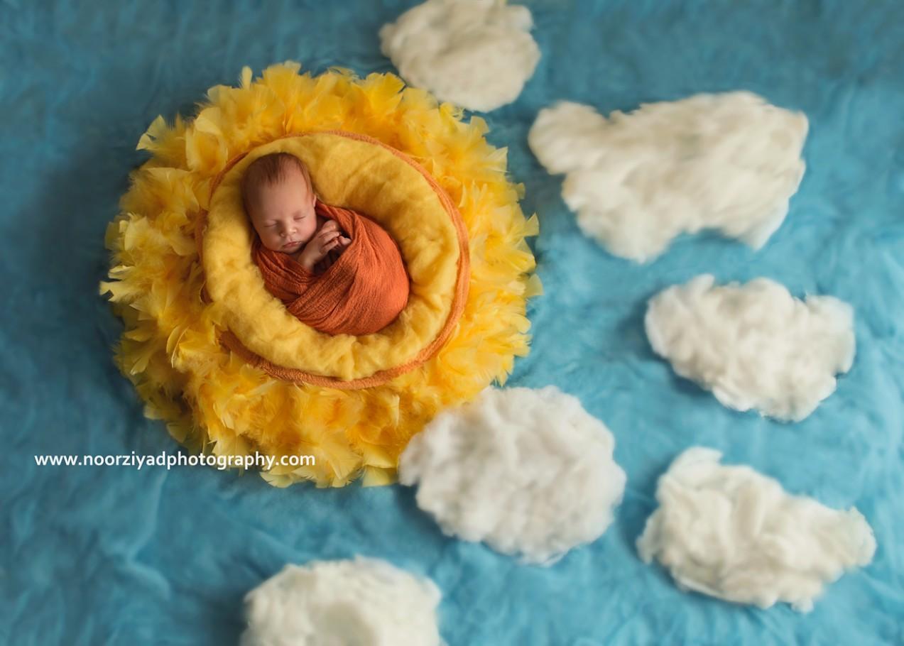amman artistic creative newborn photography