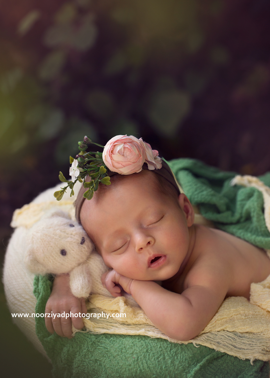 Baby portrait photography by noor ziyad in amman jordan