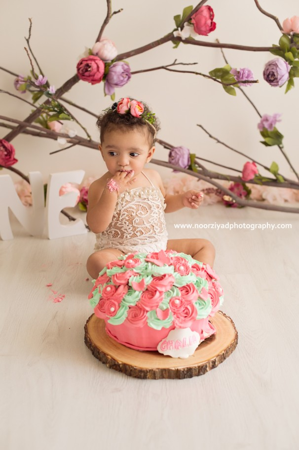 amman cake smash photographer